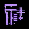 kit complet 4 griffes.stl Télécharger fichier STL gratuit pince griffe autoserrante pour grue camion jouet bruder • Plan imprimable en 3D, wilfranck