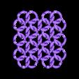 TriLoopRevC_SmallSample.stl Télécharger fichier STL gratuit Tissu en cotte de mailles de style médiéval • Plan pour imprimante 3D, ThinkSolutions
