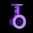 TikiTorchBracket_WIP_RevC_3inchHole.stl Télécharger fichier STL gratuit Mont de clôture de la torche Tiki • Plan pour imprimante 3D, ThinkSolutions