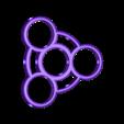 Spinner-B.stl Download free STL file Fidget Spinner for Smaller Hands - Spinner B • 3D printer model, crzldesign