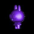 mametchi.stl Télécharger fichier STL Mametchi, personnage politique du tamagotchi, animal de compagnie japonais. • Plan pour imprimante 3D, gaaraa