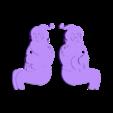 Santa.stl Télécharger fichier STL gratuit Santa Whirligig • Objet pour imprimante 3D, Sparky6548