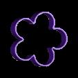 Flor1.stl Download free STL file Cake and Biscuit Moulds • 3D printer design, Zero13