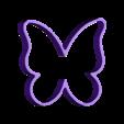 Mariposa.stl Download free STL file Cake and Biscuit Moulds • 3D printer design, Zero13