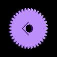 gear3.stl Télécharger fichier STL gratuit Horloge d'apprentissage à engrenages • Modèle à imprimer en 3D, ecoiras