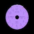 face.stl Télécharger fichier STL gratuit Horloge d'apprentissage à engrenages • Modèle à imprimer en 3D, ecoiras