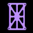 QX95_plaque.stl Download free STL file QX95 reinforced frame • 3D printable model, r083726