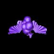 snakecloudstrusch.stl Télécharger fichier STL gratuit serpent strauss • Design imprimable en 3D, syzguru11
