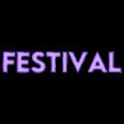 Festival.stl Download free STL file DEFQON LOGO • 3D printing model, BODY3D
