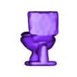 wc.stl Download free STL file kuchipatchi poo time , tamagotchi , • 3D print object, gaaraa