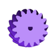 halfcircle.stl Download free STL file 4 ways to attach gears to the shaft (example gears) • Object to 3D print, LetsPrintYT