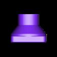 FILTER-INTERFACE LEFT(1).stl Download free STL file Mask connector Drager Ambu  • 3D printer model, rprzekop