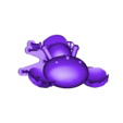 Koala_Pucca_supports.stl Télécharger fichier STL gratuit Koala (de la série animée Pucca) • Modèle pour impression 3D, Jangie
