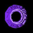 2R-3L.stl Download free STL file Latch Cryptex - Cerrojo • 3D printable design, xutano