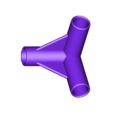 Gazebo_3_pole_replacement_part.stl Télécharger fichier STL gratuit Pièces de rechange pour les gloriettes 3 et 4 poteaux • Design à imprimer en 3D, Sagittario