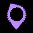 RADON-PITA 170420 05.stl Download free 3MF file PITA-DENT AND RADOM-PITA guitar pick • 3D printable object, carleslluisar