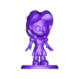 Aerith Gainsborough.OBJ Descargar archivo OBJ Aerith Gainsborough Chibi // Final Fantasy 7 • Plan de la impresora 3D, MatteoMoscatelli