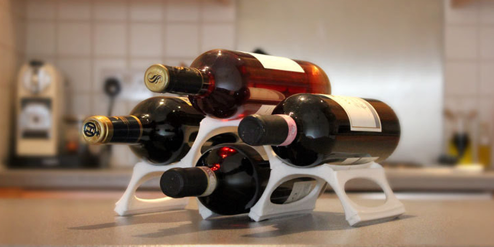 Find here a selection of the best wine related 3D models to make with a 3D printer