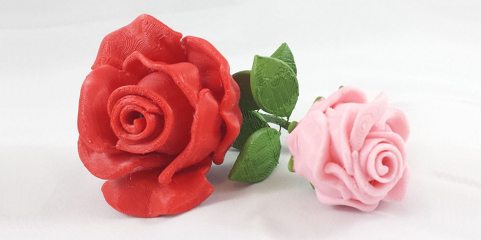 Download STL files to celebrate a 3D printing themed Valentine's Day