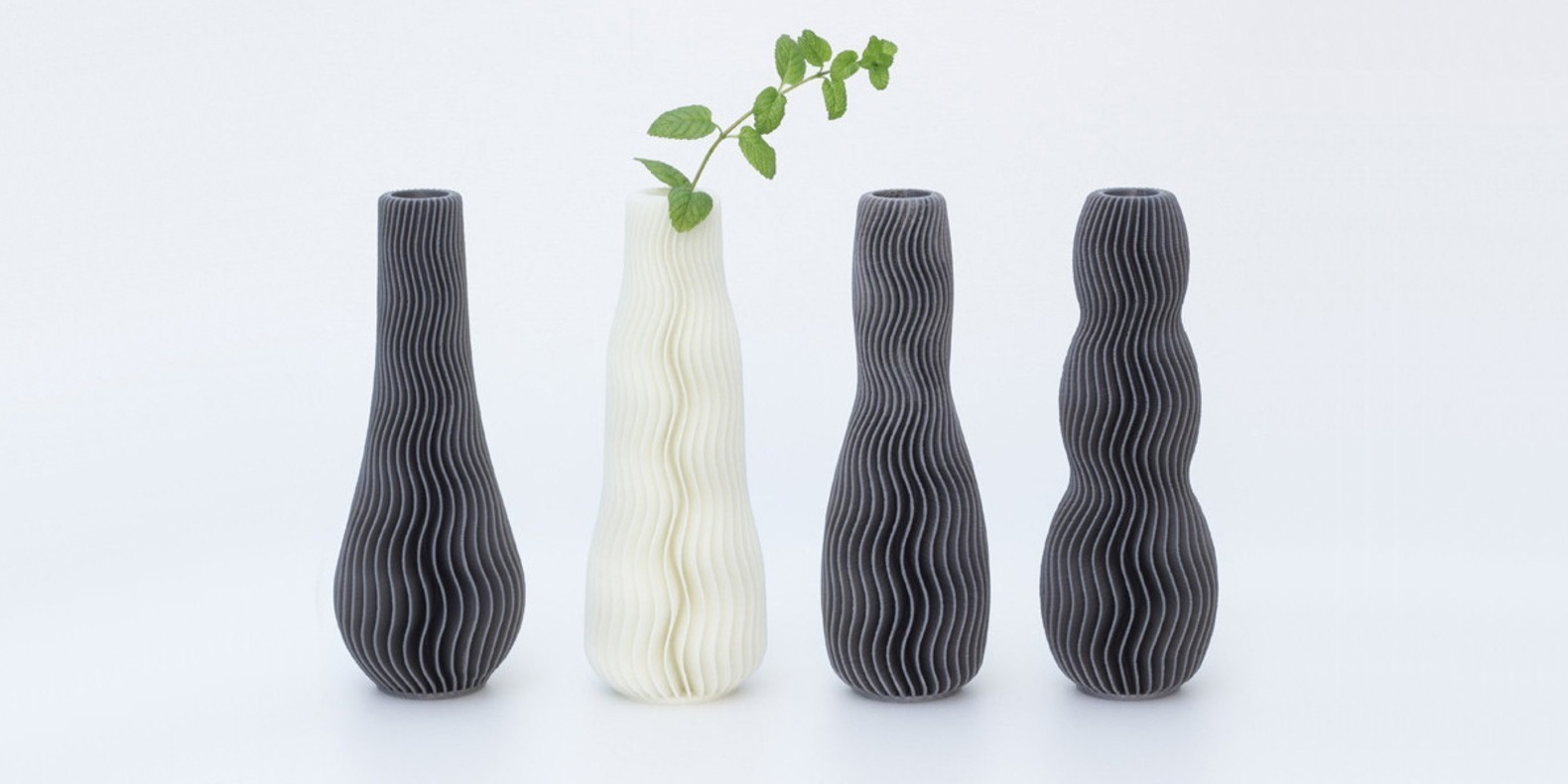 Discover in this new collection of 3D printer models of vases.