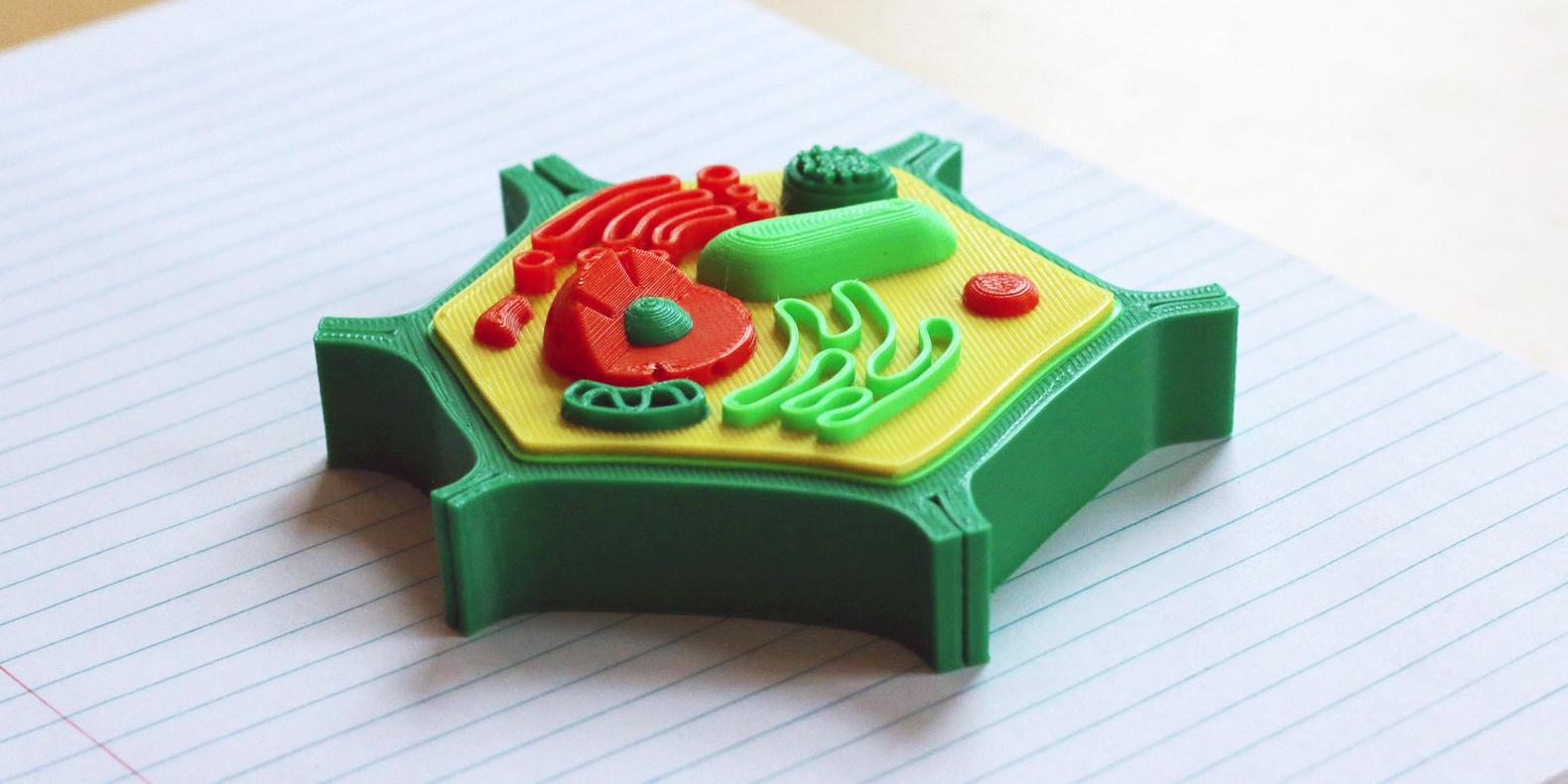 Encuentre aquí una selección de los mejores modelos 3D de biologia para hacer con una impresora 3D
