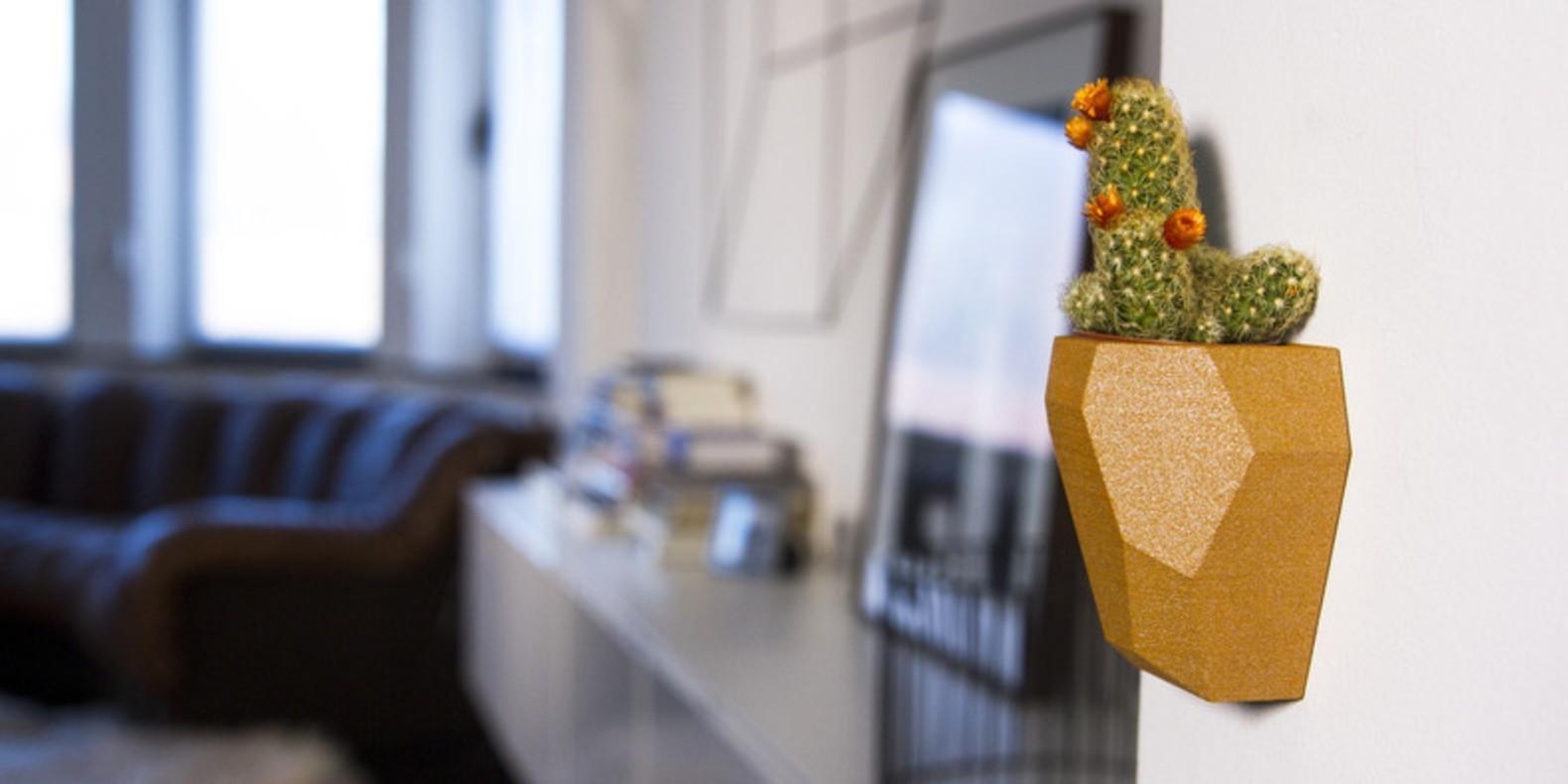 He aquí una selección de los mejores archivos 3D para imprimir en 3D sus macetas de flores