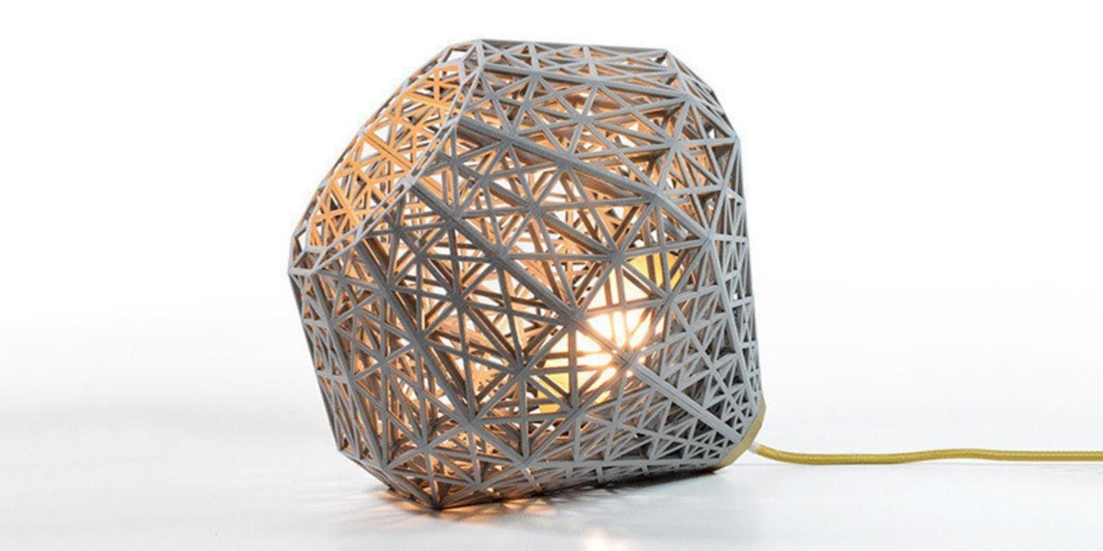 He aquí una selección de los mejores archivos 3D para imprimir en 3D sus design lamparas