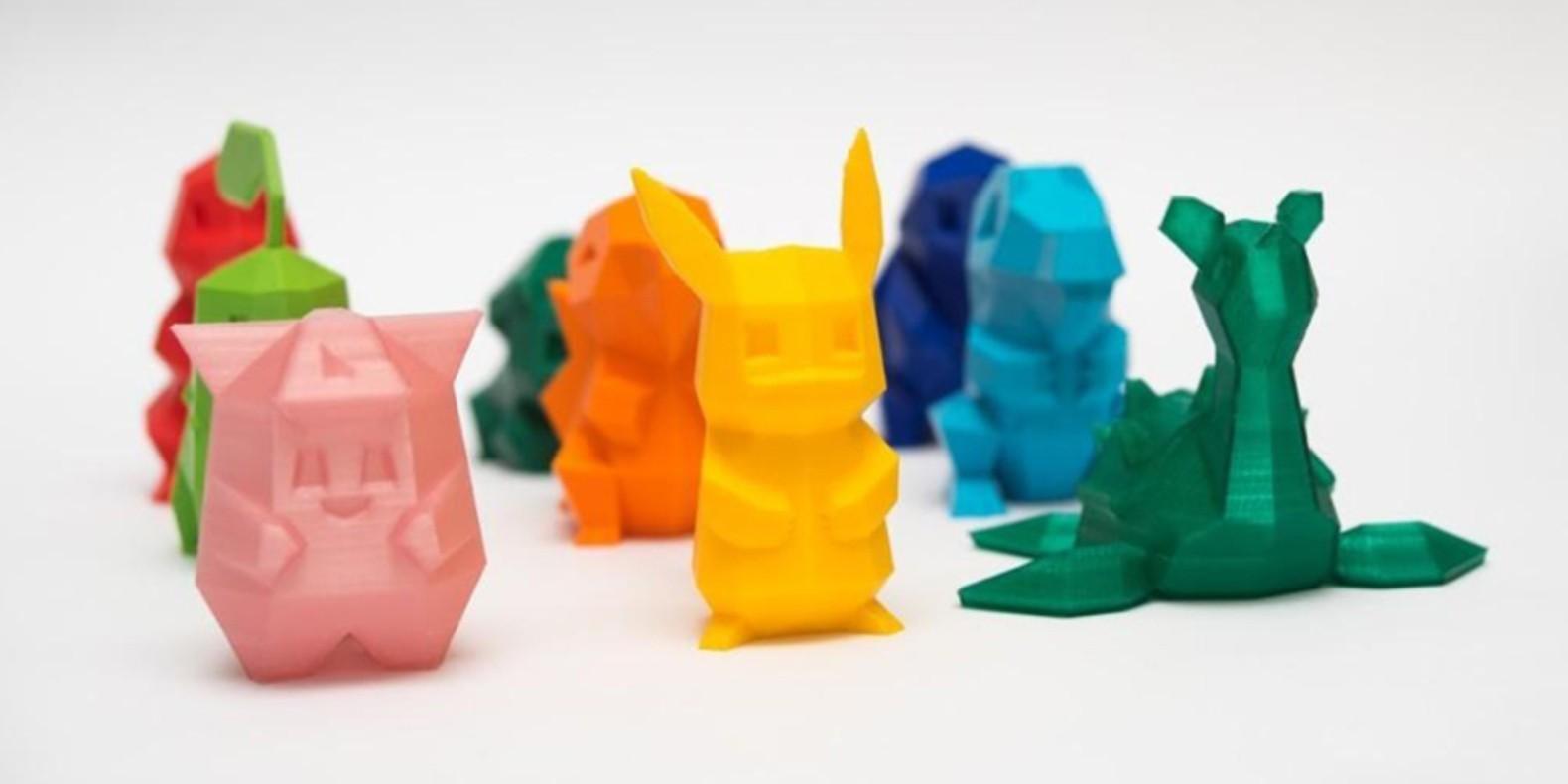 Encuentra aquí una selección de los mejores modelos 3D del universo Pokemon