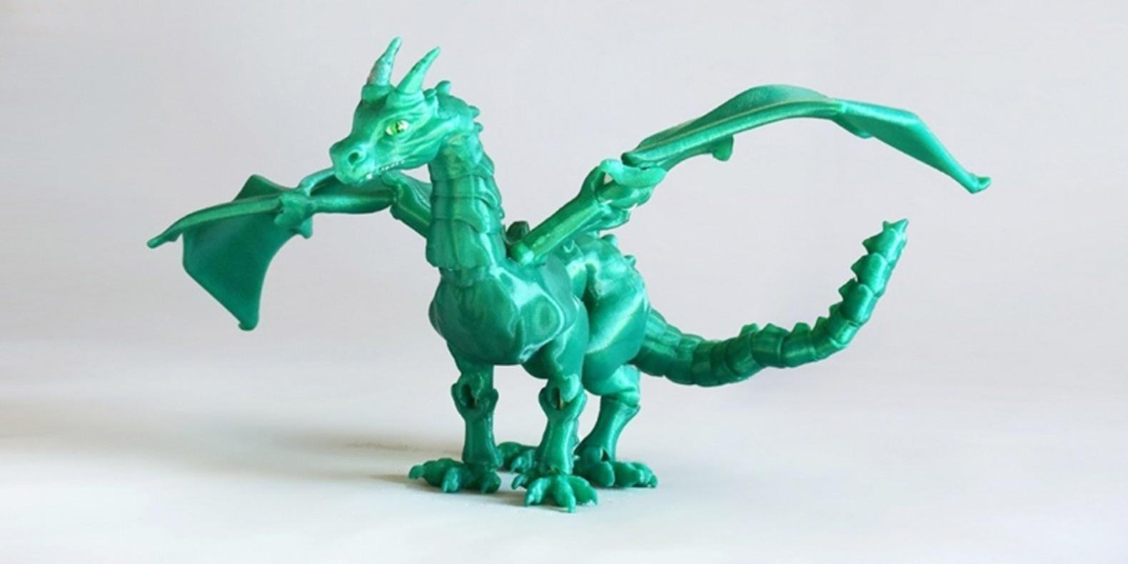 Encuentra aquí una selección de los mejores modelos 3D de dragones imprimibles 3D