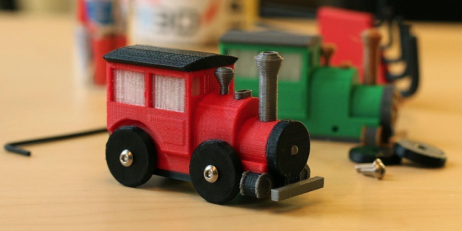 Descubre en esta nueva colección de modelos 3D todos los archivos para impresoras 3D relacionados con el modelado de trenes