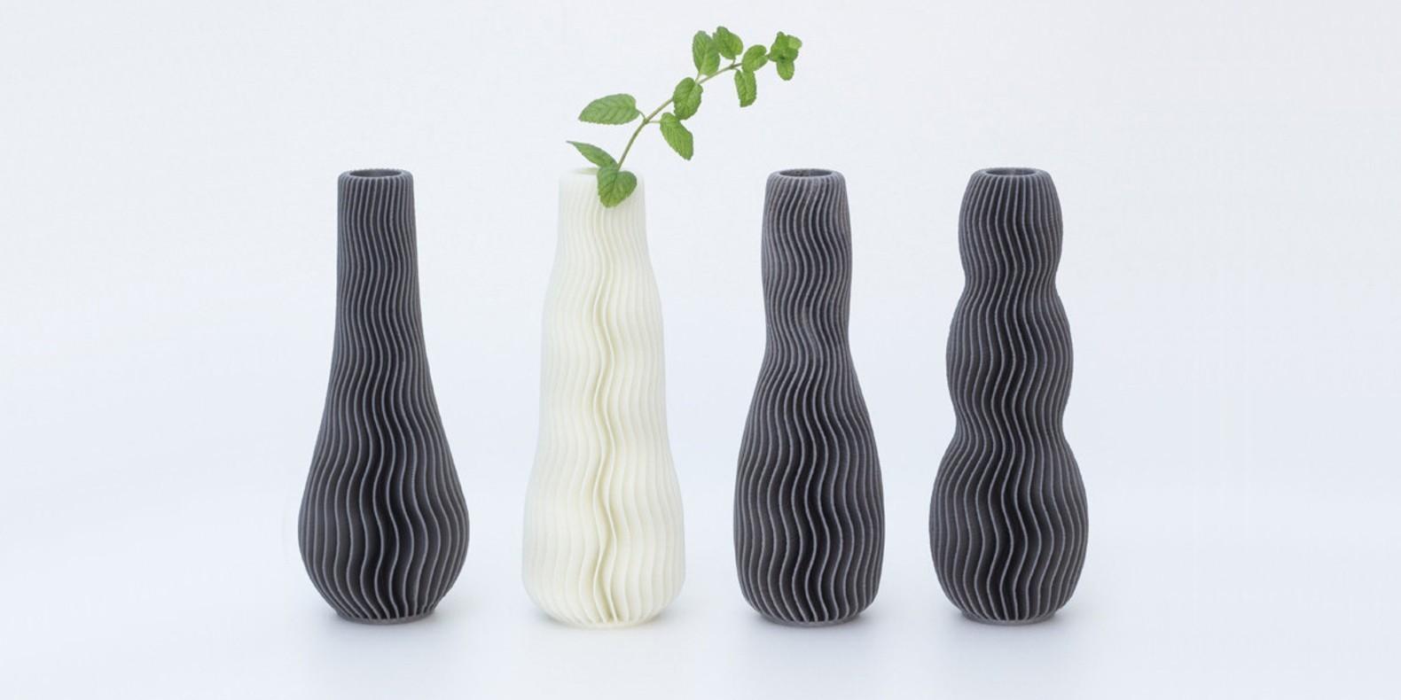 Descubra en esta colección de archivos STL para impresora 3D de jarrones.