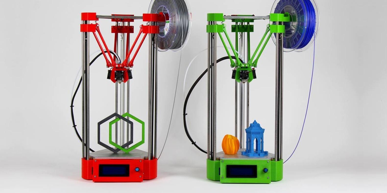 He aquí una selección de los mejores modelos 3D para imprimir su propia impresora 3D
