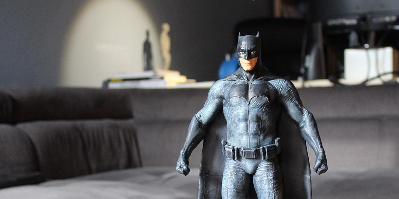 Encuentre aquí una selección de los mejores modelos 3D de Batman para hacer con una impresora 3D
