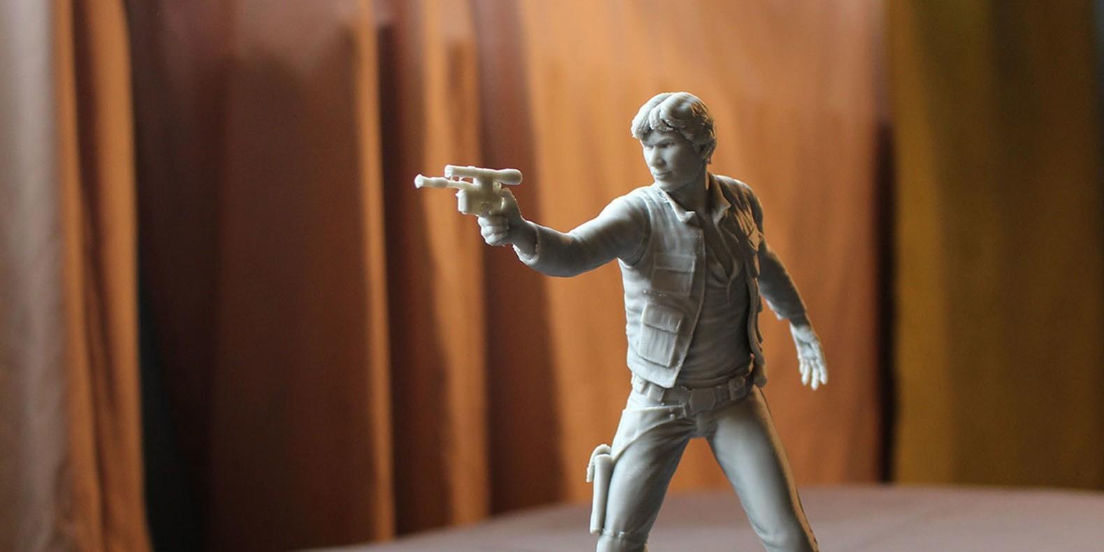 Encuentre aquí una selección de los mejores modelos 3D de Star Wars para hacer con una impresora 3D