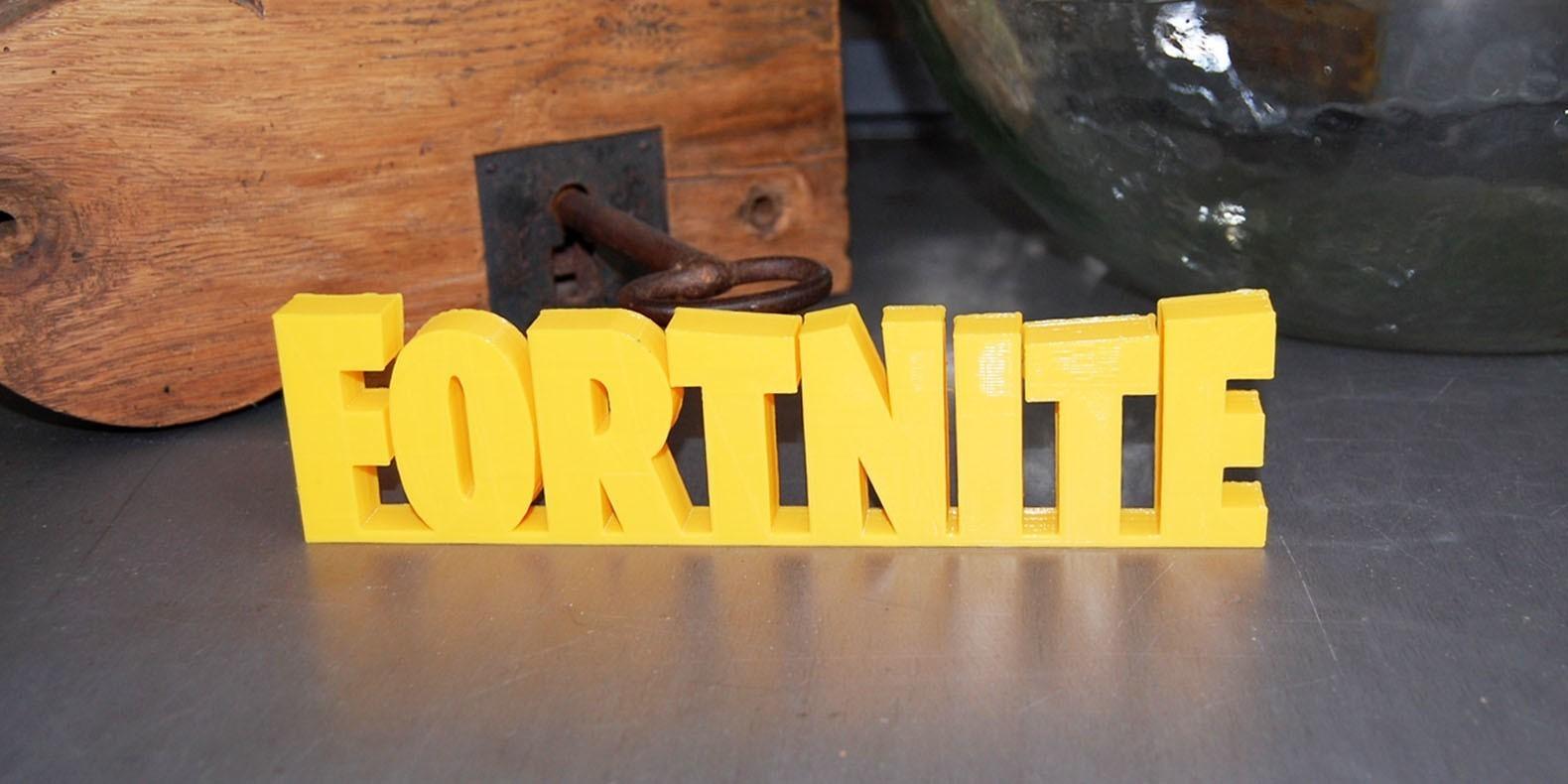 Encuentre aquí una selección de los mejores modelos 3D de Fortnite para hacer con una impresora 3D