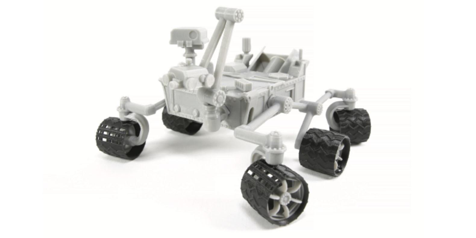 He aquí una selección de los mejores modelos 3D relacionados con el espacio para realizar con una impresora 3D
