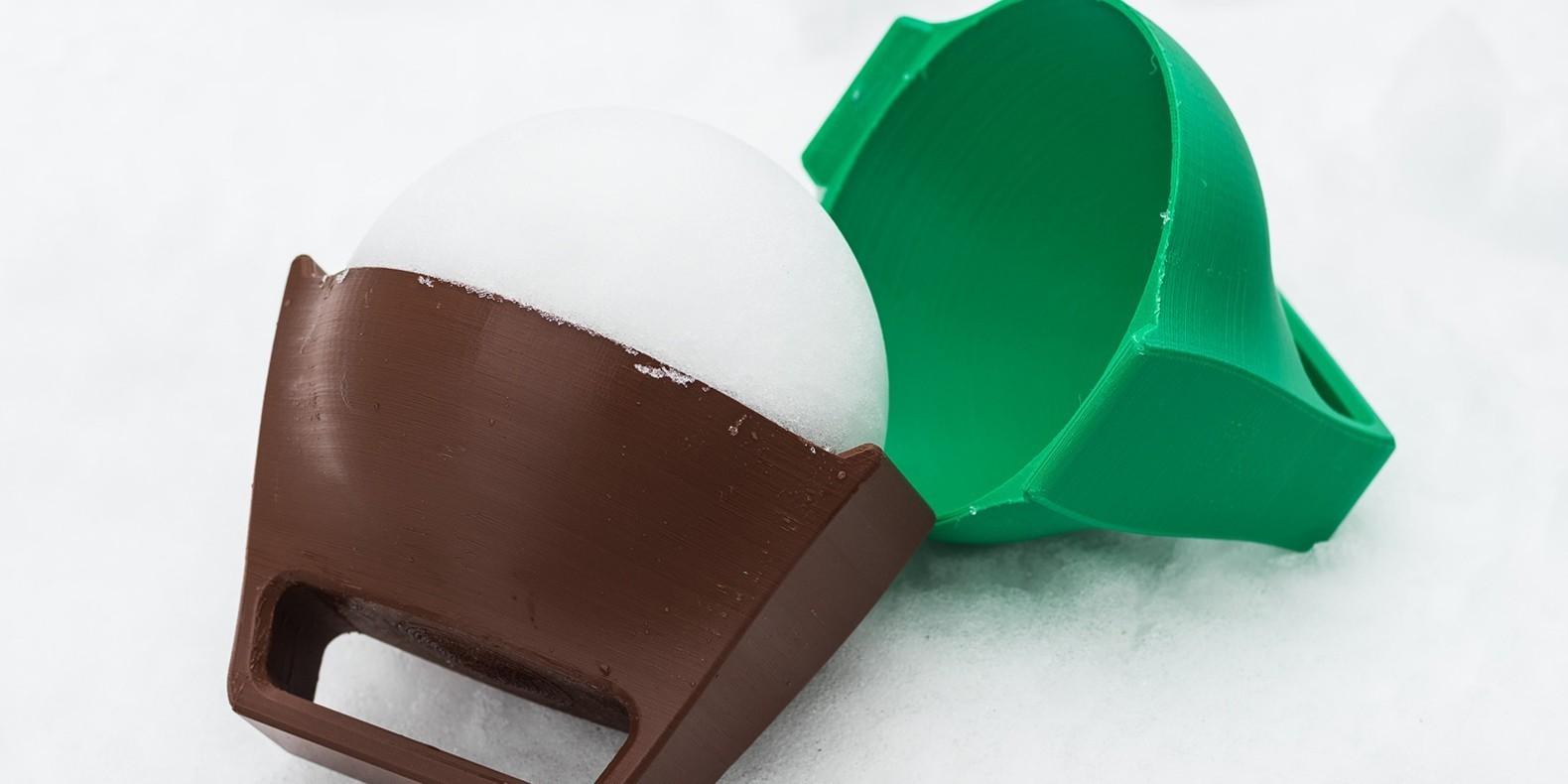 Encuentre aquí una selección de los mejores modelos 3D de nieve e invierno para hacer con una impresora 3D
