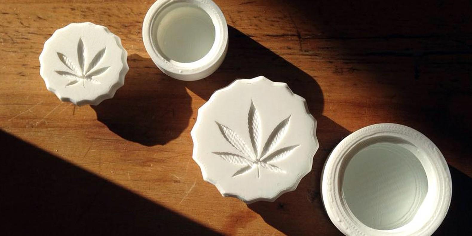 Encuentre aquí una selección de los mejores modelos 3D de cannabis para hacer con una impresora 3D