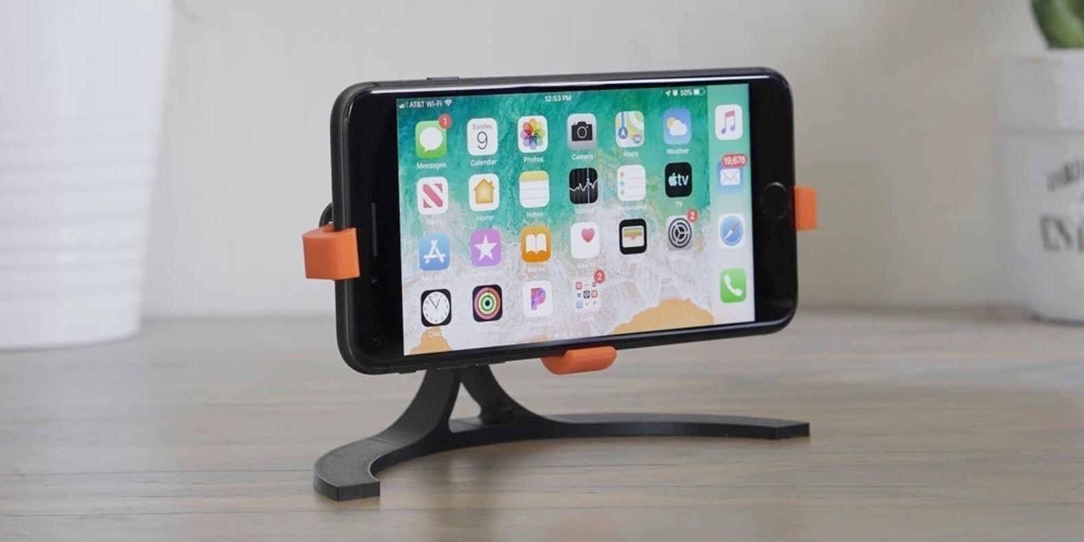 Retrouvez ici une sélection des meilleurs modèles 3D de supports de téléphones imprimables en 3D