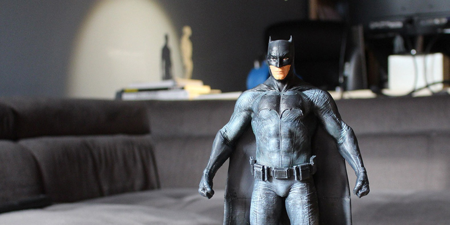 Retrouvez ici une sélection des meilleurs modèles 3D de Batman imprimables en 3D