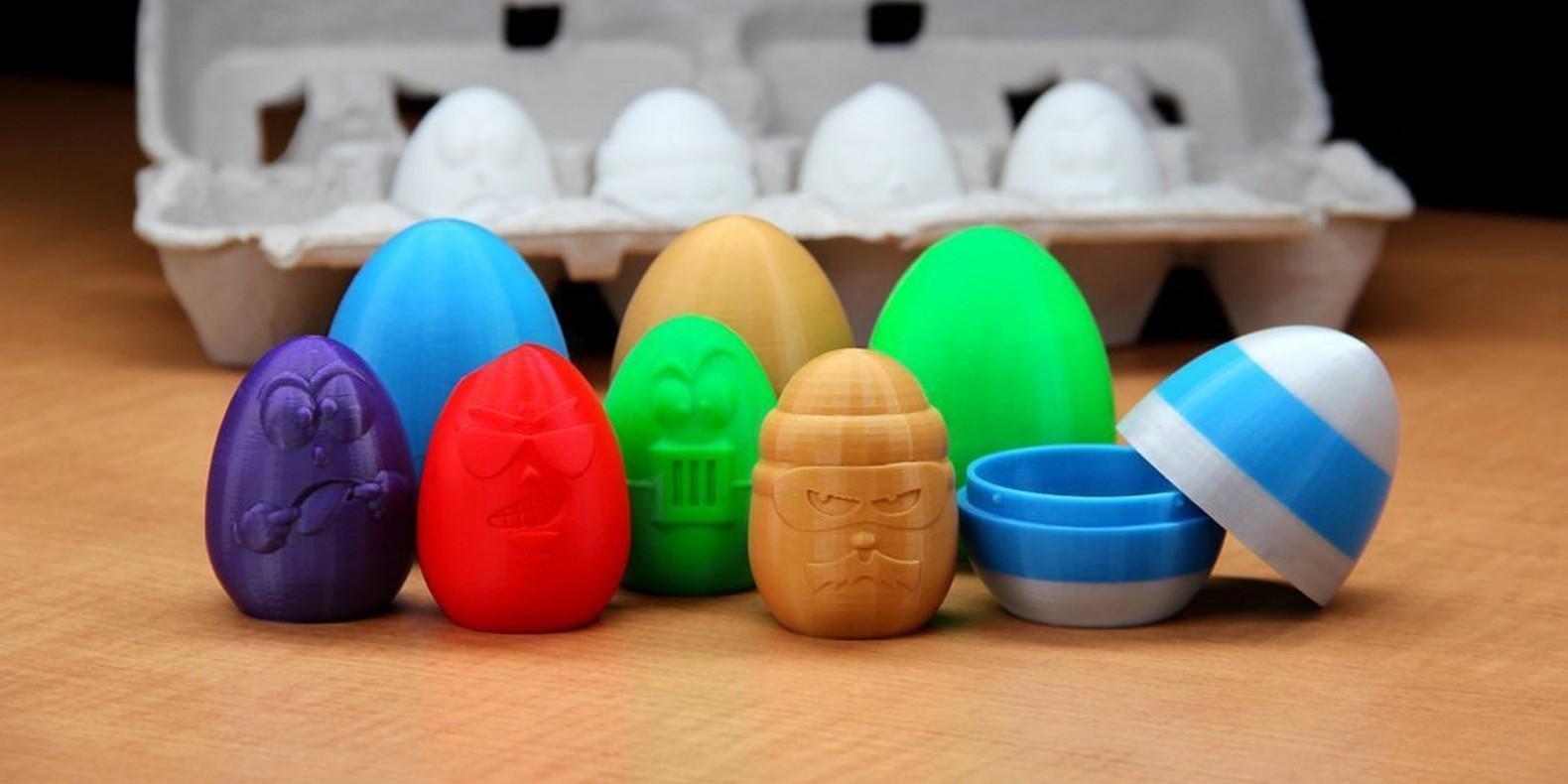 Téléchargez les fichiers STL pour fêter Pâques sous le signe de l'impression 3D