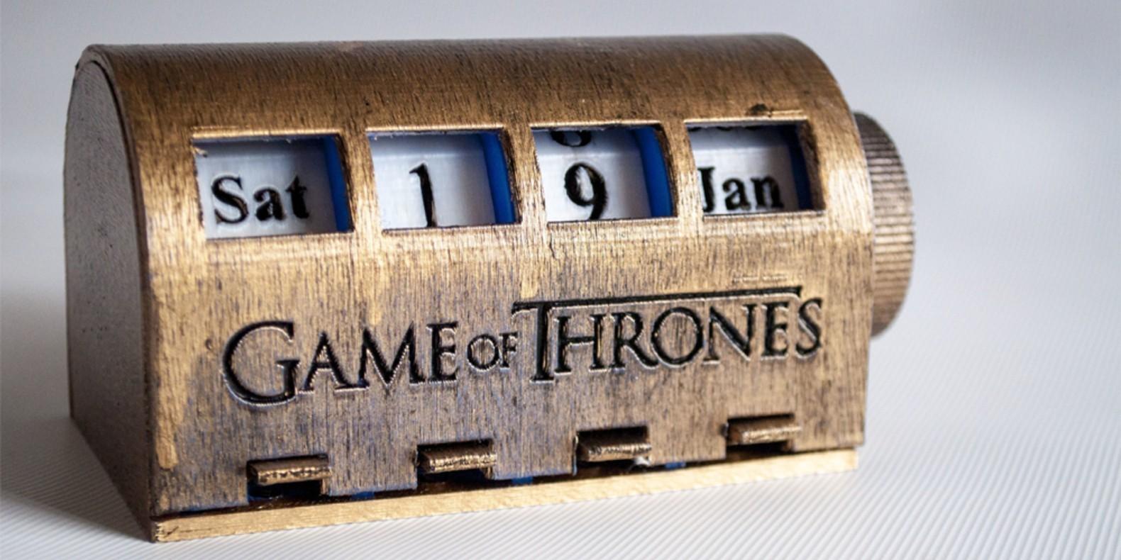 Descubre nuestra selección de los mejores archivos STL relacionados con el universo de Game of Thrones.
