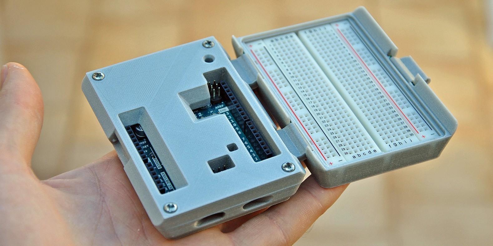 Retrouvez ici une sélection des meilleurs modèles 3D pour Arduino & Raspberry Pi imprimables en 3D