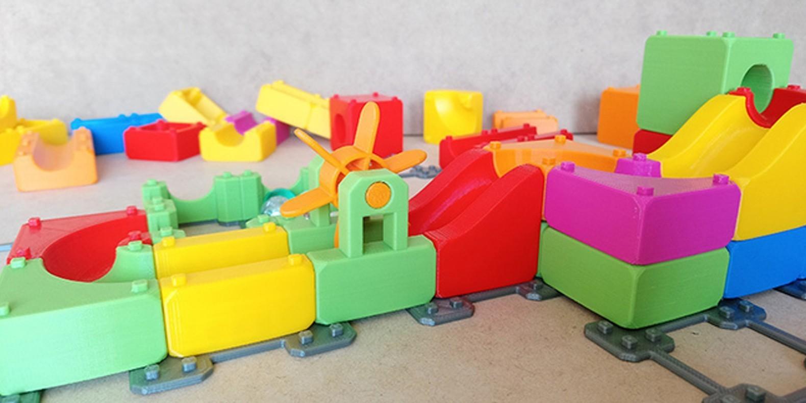 Découvrez dans cette nouvelle collection de modèles 3D tous les fichiers 3D pour imprimantes 3D liés aux machines de rube goldberg