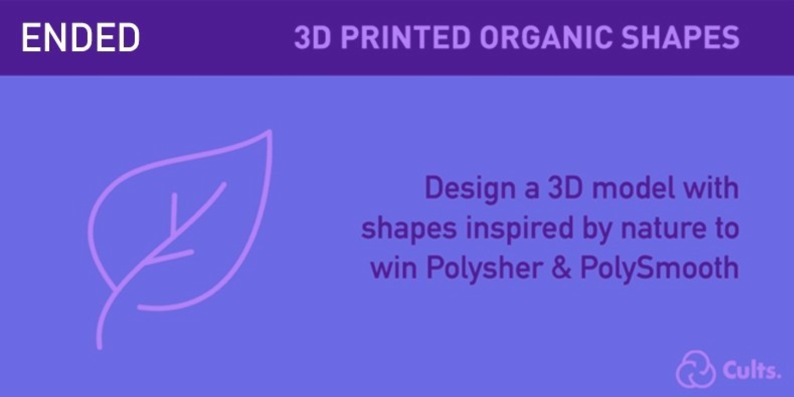 The challenge of design and 3D printing about Organic Shapes