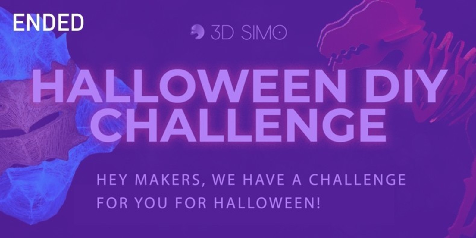 Hey makers, Halloween is near and we've got challenge for you!