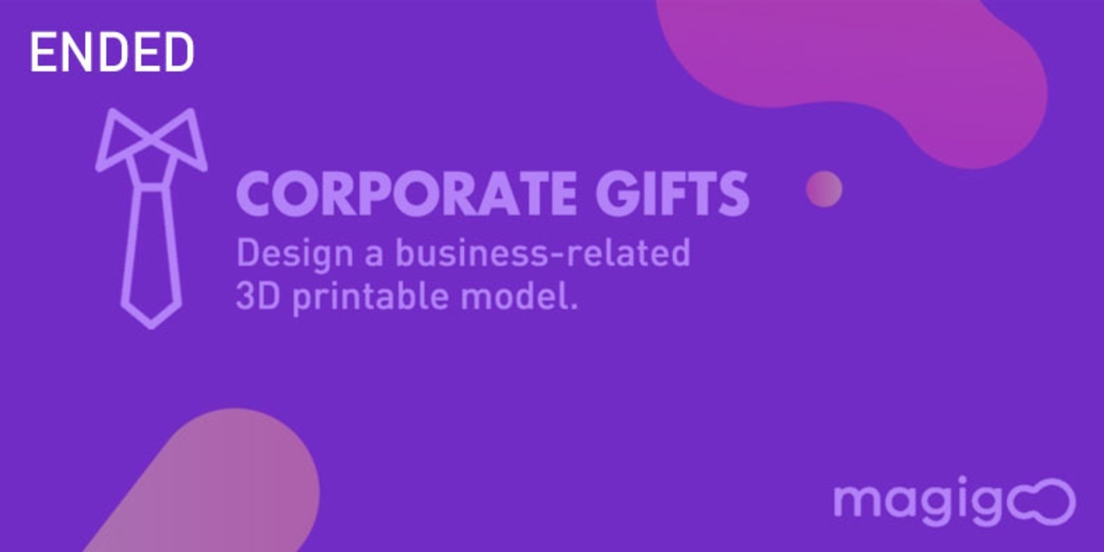 Design a 3D printable Corporate Gift, an object we can offer in a business relationship