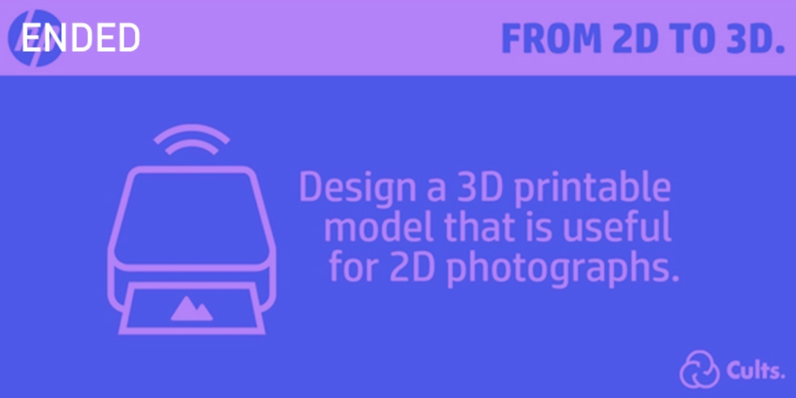 The design and 3D printing challenge around photo and camera.