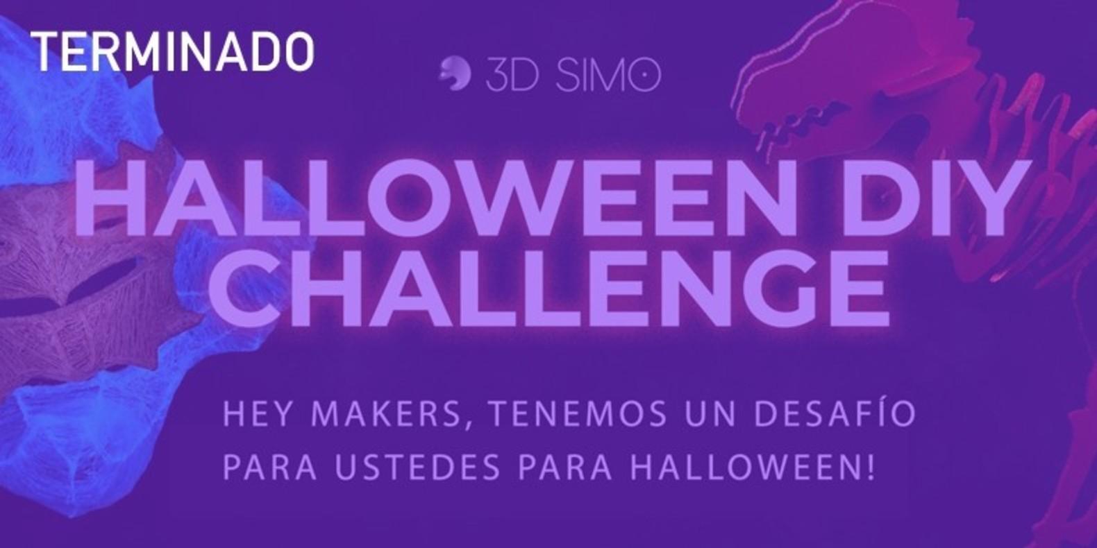 Hey makers, Halloween está cerca y tenemos un desafío para ustedes!