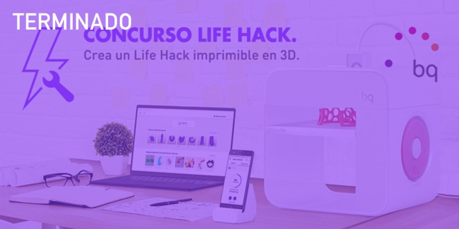 Modelar un Life Hack imprimible en 3D